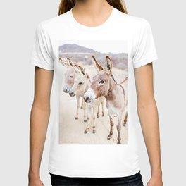 Three Donkeys in Baja, Mexico T-shirt