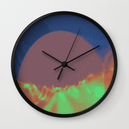 Psychedelica Chroma XII Wall Clock