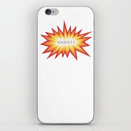 Anxiety Attack iPhone Skin