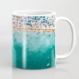 Ocean Beach Art, Aerial Photography, Aerial Beach Print, Printable Art, Sea Print, Ocean Poster, Modern Beach Print Coffee Mug