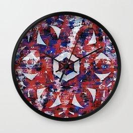 E Pluribus Unum Wall Clock