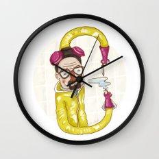 Breaking Bad (alphabet series TV) Wall Clock