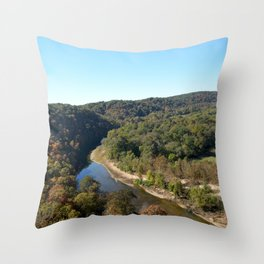 Sparrowhawk Mountain Series, No. 16 Throw Pillow