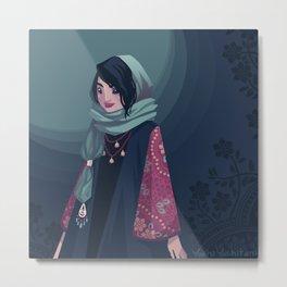 Tehran Fashion II Metal Print