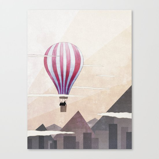 On the Rise Canvas Print