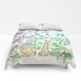 Winter Blooms Comforters