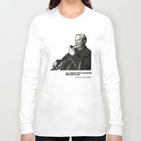 tolkien Long Sleeve T-shirts featuring Tolkien - Wander by Illyrio_Mopatis