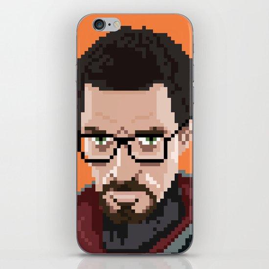 Gordon Freeman portrait iPhone Skin