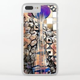 seattle scapes Clear iPhone Case