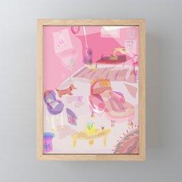 office space Framed Mini Art Print