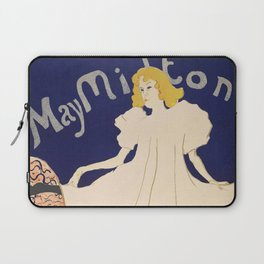 "Henri de Toulouse-Lautrec ""May Milton"" Laptop Sleeve"