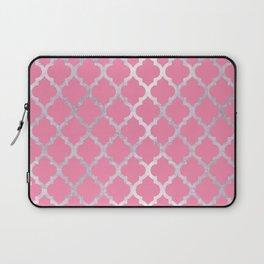 Moroccan Silver & Pink III Laptop Sleeve