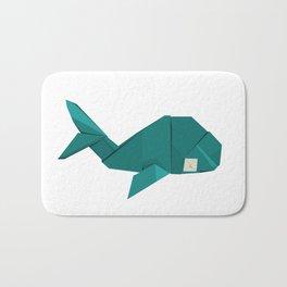 Origami Whale Bath Mat