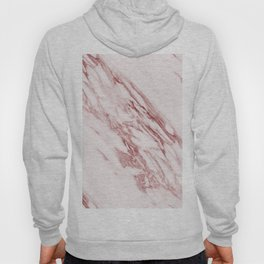 Ripples of Rose and Cream Marble Hoody