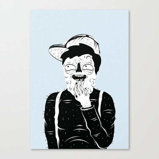 Weird Kid Canvas Print