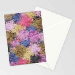 Tropical Fan Palm Paradise – Colorful #06 Stationery Cards