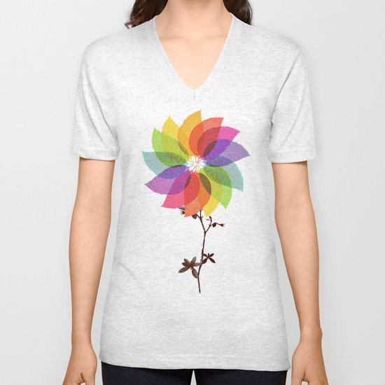 The windmill in my mind Unisex V-Neck