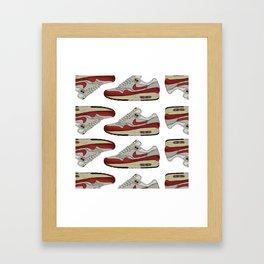 The Air Max 1 Framed Art Print