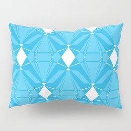 Abstract [BLUE] Emeralds Pillow Sham