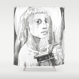 Mother & Child Shower Curtain