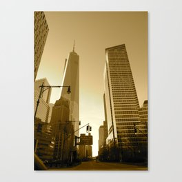 The Freedom Tower Canvas Print