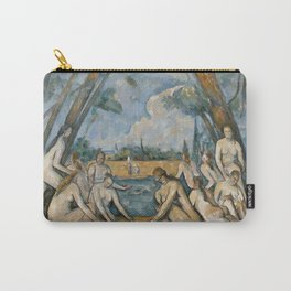 Paul Cezanne - The Large Bathers Carry-All Pouch
