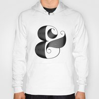 ampersand Hoodies featuring Ampersand by Jude Landry