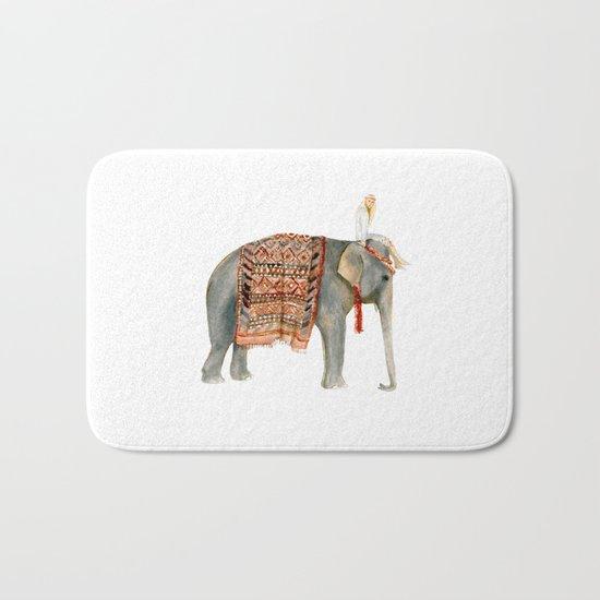 Elephant Ride Bath Mat