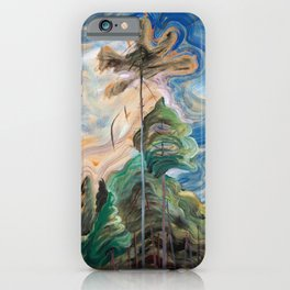 Emily Carr - Sunshine and Tumult - Canada, Canadian Oil Painting - Group of Seven iPhone Case