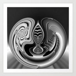 Gemini Gem Art Print