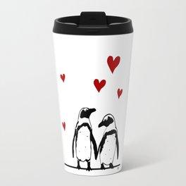 Love Penguins Travel Mug