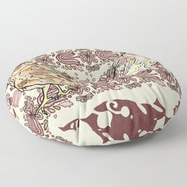 If the facts don't fit your theory, change the facts Floor Pillow