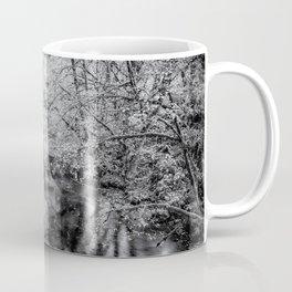 North Fork Silver Creek bw Coffee Mug