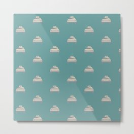Travel pattern with Metal Print