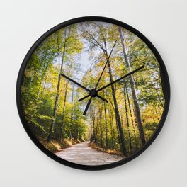 Forest Road - Muir Valley, Kentucky Wall Clock