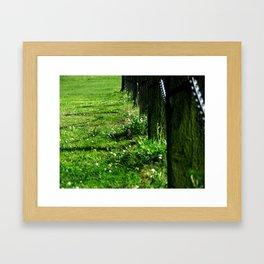 Green No.2 Framed Art Print