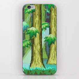 Forest of Pixels iPhone Skin