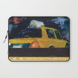 Subway Card NYC Taxi Painting Laptop Sleeve