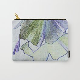 Gingko Abstract Carry-All Pouch