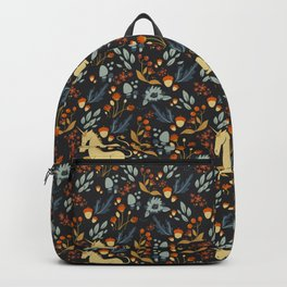 Unicorn autumn forest pattern Backpack