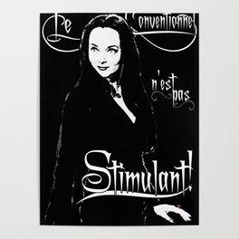 Morticia: Le Conventionnel n'est pas Stimulant! Poster