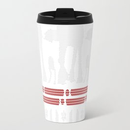 Christmas on Hoth Travel Mug