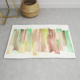 [161228] 22. Abstract Watercolour Color Study |Watercolor Brush Stroke Rug