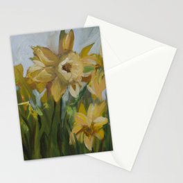 Clouds of Daffodils Stationery Cards
