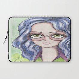 glasses girl Laptop Sleeve