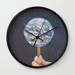 Lollipop Globe Wall Clock
