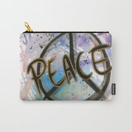Peace Sign Art Print Carry-All Pouch