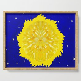 Sun and stars Serving Tray