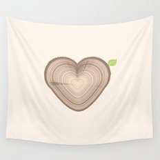 Love Nature Wall Tapestry