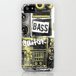 Beats, Bass & Guitar. iPhone Case